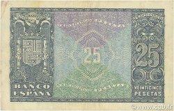 25 Pesetas ESPAGNE  1940 P.116a TTB