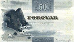 50 Kronur ÎLES FEROE  2001 P.24 NEUF