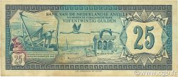 25 Gulden ANTILLES NÉERLANDAISES  1979 P.17 TTB
