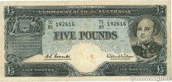 5 Pounds AUSTRALIE  1960 P.35 TTB