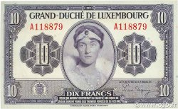 10 Francs LUXEMBOURG  1944 P.44 SPL