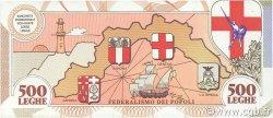 500 Leghe ITALIE  1993 P.-- NEUF