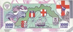 1000 Leghe ITALIE  1993 P.-- NEUF