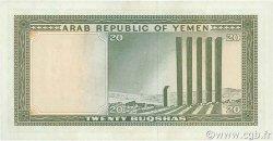 20 Buqshas YÉMEN - RÉPUBLIQUE ARABE  1966 P.05a SPL+