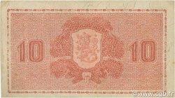 10 Markkaa FINLANDE  1945 P.085 pr.SUP