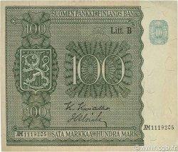 100 Markkaa FINLANDE  1945 P.088 SUP