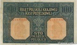 100 Marek POLOGNE  1916 P.015 TTB