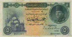 5 Pounds ÉGYPTE  1946 P.025a TTB