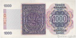 1000 Kroner NORVÈGE  1989 P.45a SPL+
