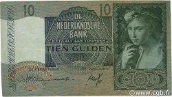 10 Gulden PAYS-BAS  1942 P.056a TTB