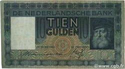 10 Gulden PAYS-BAS  1934 P.049 TTB