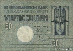 50 Gulden PAYS-BAS  1929 P.047 TB+