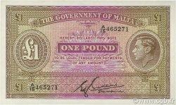 1 Pound MALTE  1940 P.20b NEUF