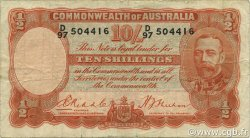 10 Shillings AUSTRALIE  1936 P.21 TB