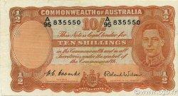 10 Shillings AUSTRALIE  1952 P.25d SUP