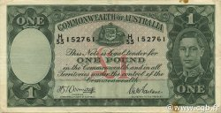 1 Pound AUSTRALIE  1942 P.26b TTB