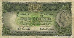 1 Pound AUSTRALIE  1953 P.30 B