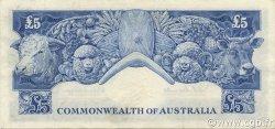 5 Pounds AUSTRALIE  1960 P.35a SUP