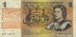 1 Dollar AUSTRALIE  1972 P.37d TB+