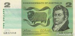 2 Dollars AUSTRALIE  1968 P.38c SPL
