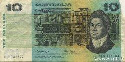 10 Dollars AUSTRALIE  1974 P.45b TB
