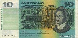 10 Dollars AUSTRALIE  1990 P.45f TTB