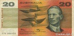 20 Dollars AUSTRALIE  1990 P.46g TTB