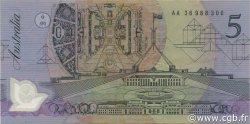 5 Dollars AUSTRALIE  1992 P.50a TTB+