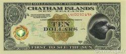 10 Dollars ILES CHATHAM  1999  NEUF