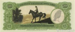 15 Dollars ILES CHATHAM  1999 P.-- NEUF