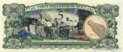 5 Dollars ILES CHATHAM  2001 P.-- NEUF