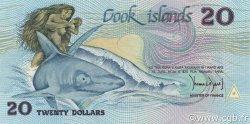 20 Dollars ÎLES COOK  1987 P.05a SPL