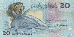 20 Dollars ÎLES COOK  1987 P.05b NEUF