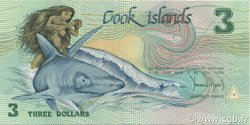 3 Dollars ÎLES COOK  1992 P.06a NEUF