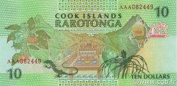 10 Dollars ÎLES COOK  1992 P.08a NEUF