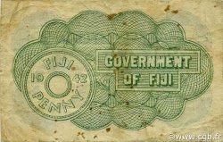 1 Penny FIDJI  1942 P.047a TTB