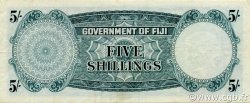5 Shillings FIDJI  1962 P.051c TTB+