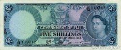 5 Shillings FIDJI  1964 P.051d SUP
