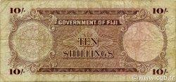10 Shillings FIDJI  1964 P.052d B+
