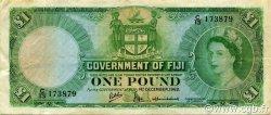 1 Pound FIDJI  1962 P.053e TTB+