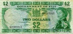 2 Dollars FIDJI  1969 P.060a TTB