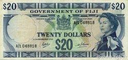 20 Dollars FIDJI  1969 P.063a TTB+