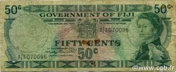 50 Cents FIDJI  1971 P.064a B+