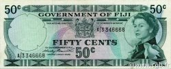 50 Cents FIDJI  1971 P.064a SUP