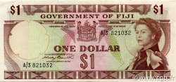 1 Dollar FIDJI  1971 P.065a SUP