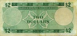 2 Dollars FIDJI  1971 P.066a TTB