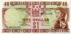 1 Dollar FIDJI  1974 P.071b SUP