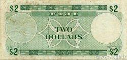 2 Dollars FIDJI  1974 P.072c pr.TTB