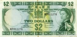 2 Dollars FIDJI  1974 P.072c TTB+