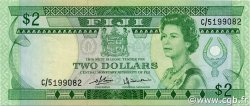 2 Dollars FIDJI  1980 P.077a SUP+